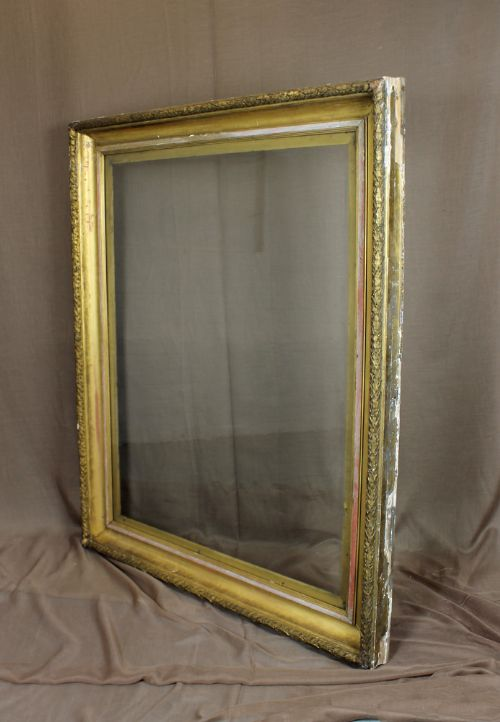 9304f8ca5695 Very Large Distressed Gilt Frame.