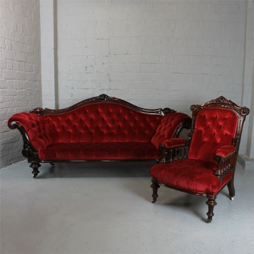 Awesome Victorian Sofa Armchair