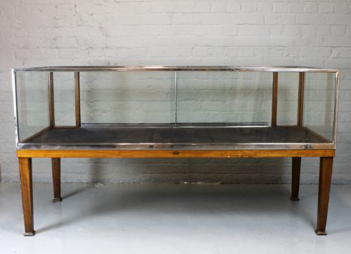page load time 0.19 seconds - Pair Vintage Shop Display Cabinets. 230527 Sellingantiques.co.uk