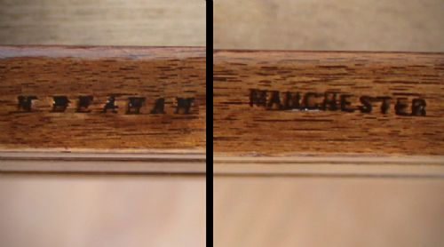 edwardian kneehole desk - photo angle #6