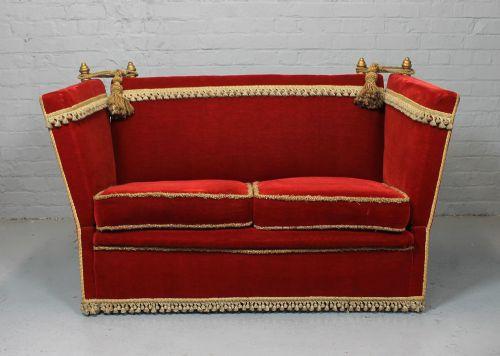 Magnificent Knole Sofa Armchairs Suite 250694 Sellingantiques Co Uk Inzonedesignstudio Interior Chair Design Inzonedesignstudiocom