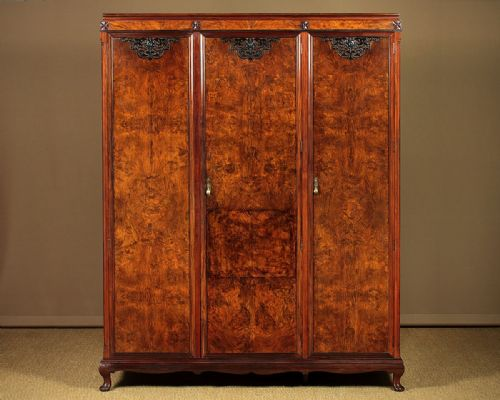 Antique Furniture Antique 1910 Mahogany Wardrobe Uk Delivery Available Pure White And Translucent Armoires/wardrobes