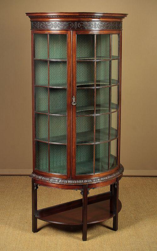 edwardian mahogany cabinet by shapland petter c1910