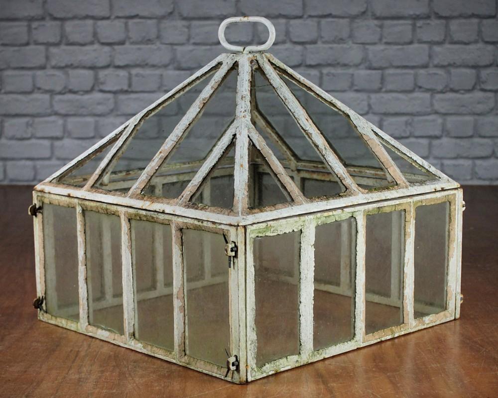 Antique Cast Iron Garden Cloche C1900 274804 Sellingantiques