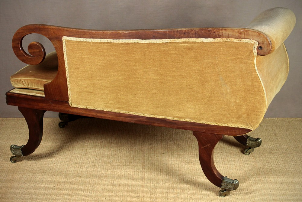 Small regency chaise longue 284158 for Antique chaise longue uk