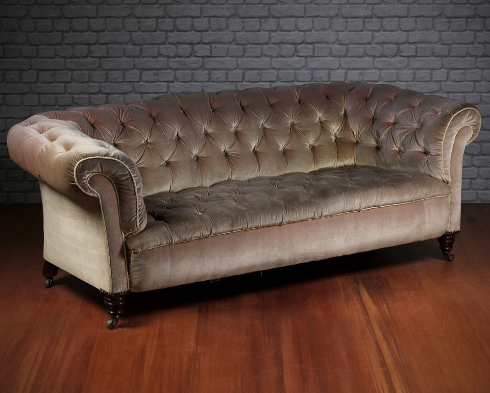 Beau 19thc Chesterfield Sofa By Hampton Sons