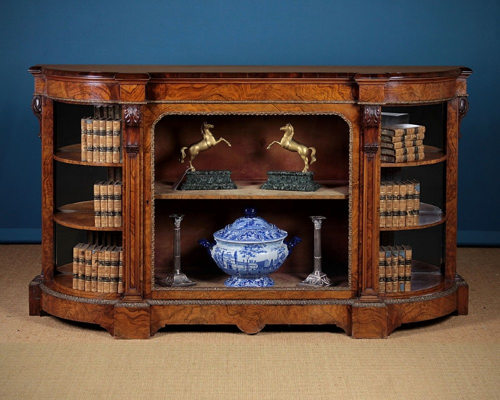 La Credenza Uk : 19th.c. credenza display side cabinet c.1880. 541775