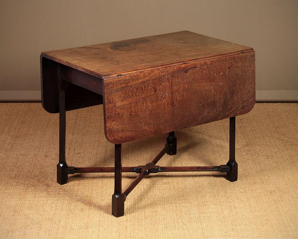 george iii mahogany pembroke supper table c1775