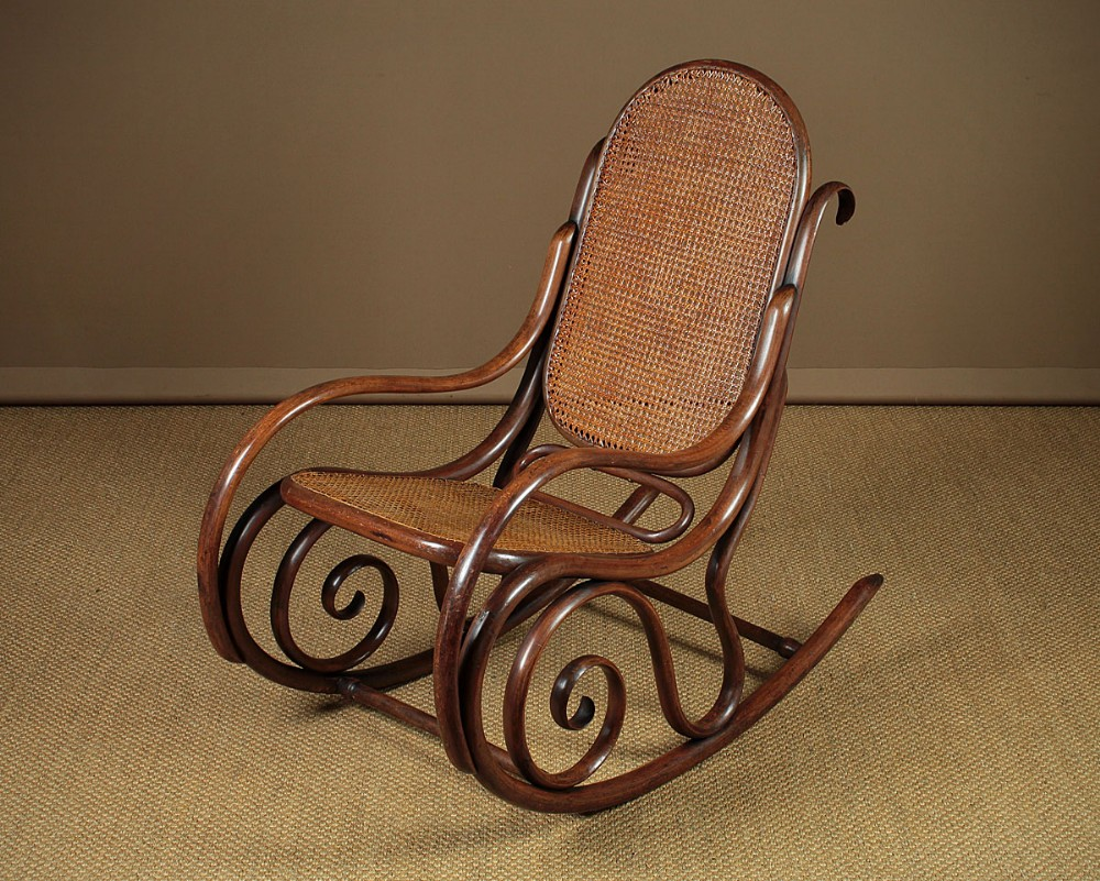 Early 20th.C. Bentwood Rocking Armchair C.1920 | 602267 ...