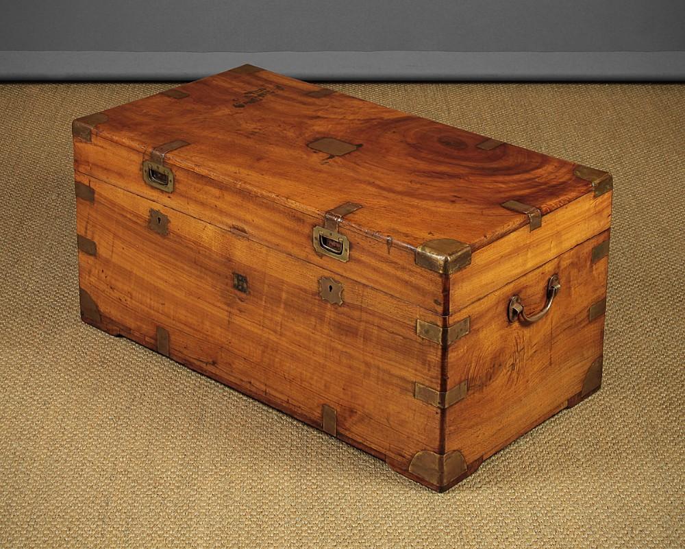 camphorwood campaign chest c1900
