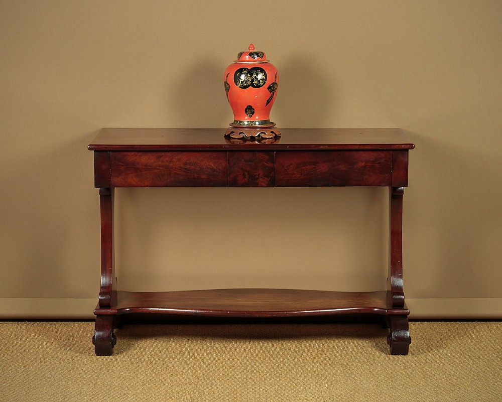 william iv mahogany sofa table c1830