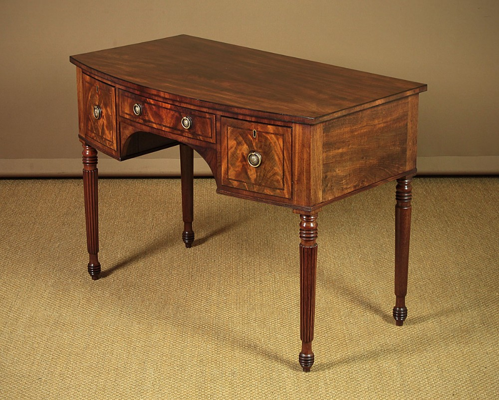small georgian mahogany sideboard c1810