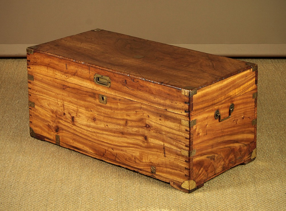 camphorwood campaign chest c1890
