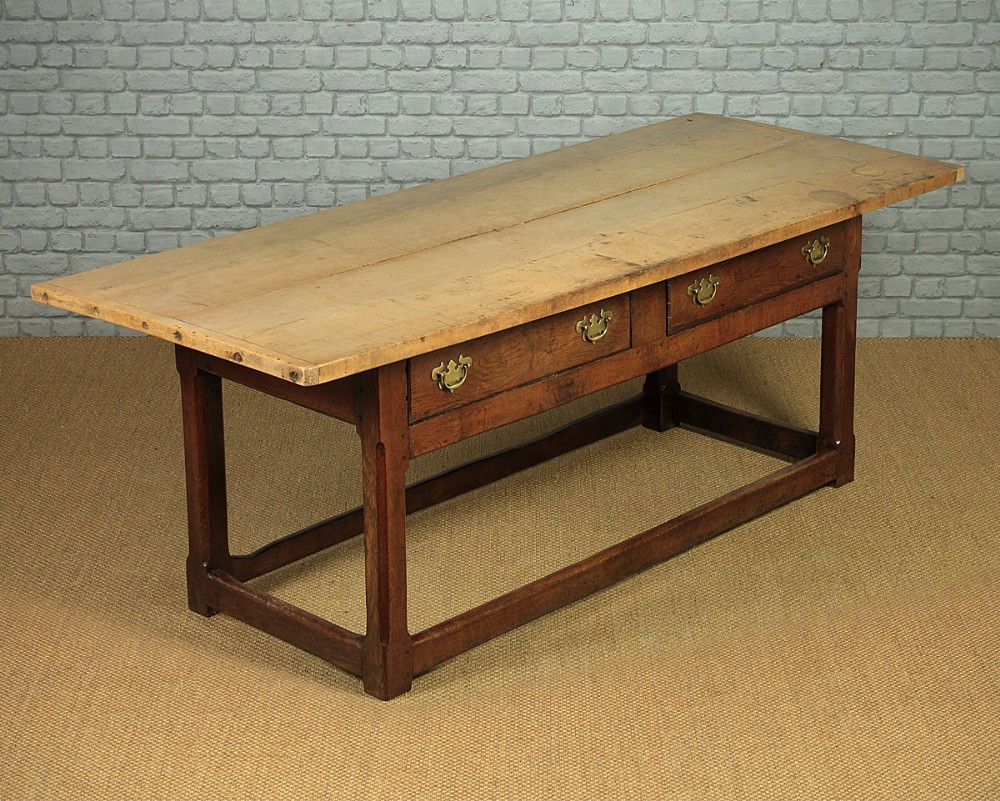 mid 19thc kitchen or dairy table c1820