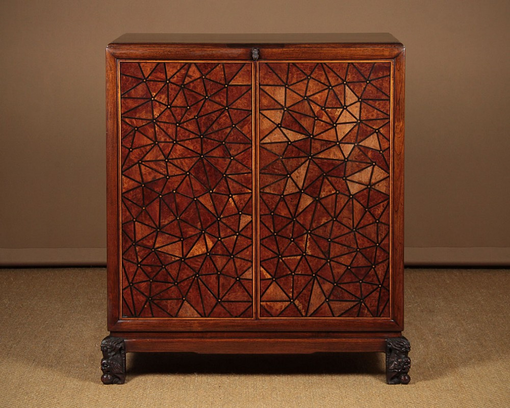 chinese art deco cabinet c1930
