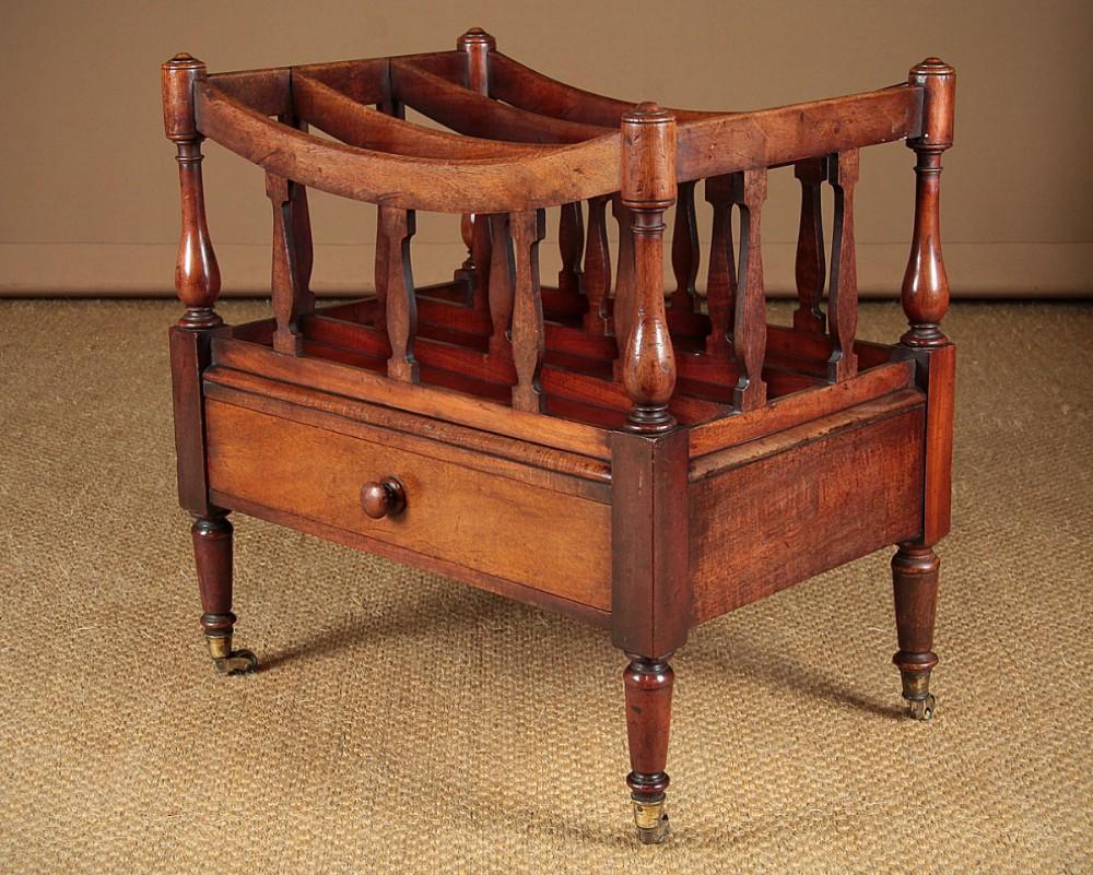 mahogany canterbury c1850