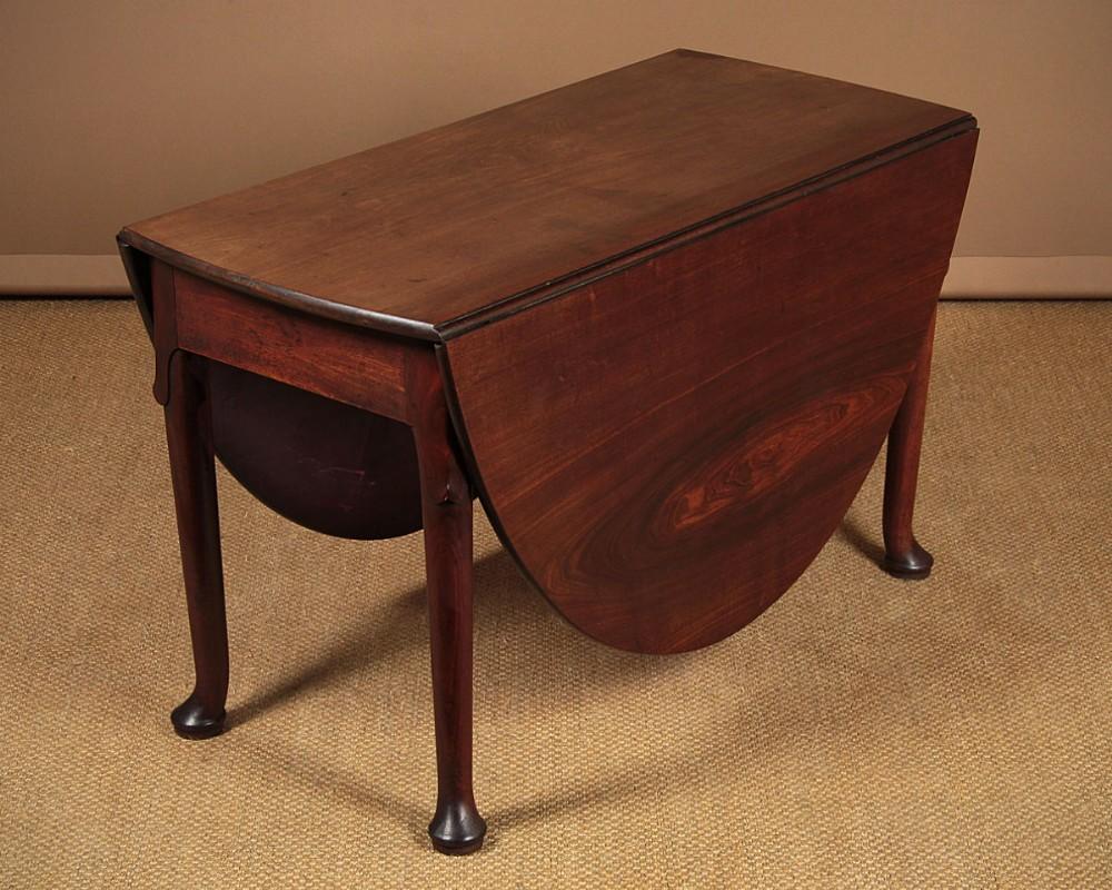 george ii cuban mahogany drop leaf dining table c1760