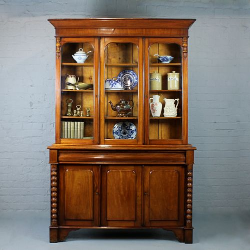 Welsh bookcase or kitchen display cabinet 231750 - Kitchen display cabinets ...
