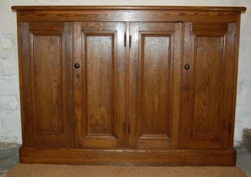 antique victorian bookcase storage cupboard