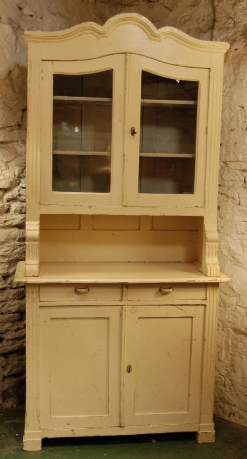 antique french louis philippe cabinet dresser display