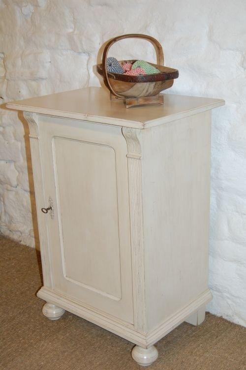 antique painted pine cabinet art nouveau