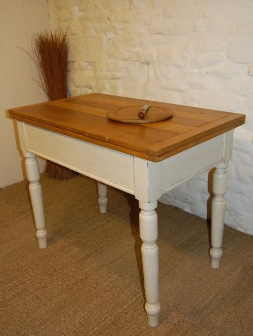 antique pine country table