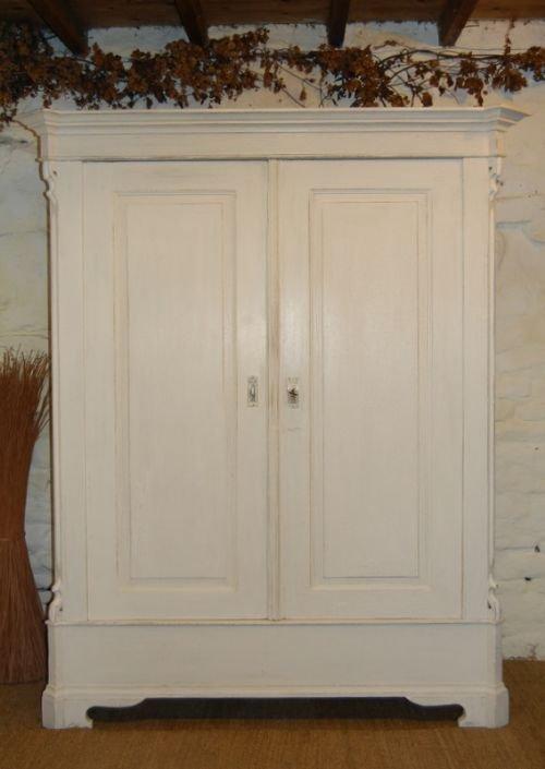 antique louis philippe double wardrobe