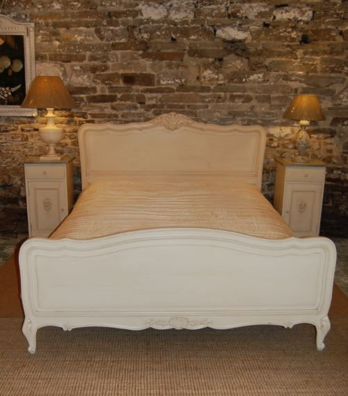 fba801314f408 Antique French Oak King Size Bed