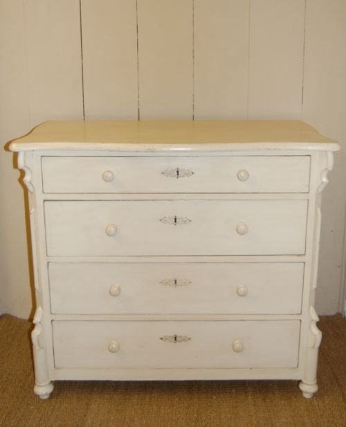 antique pine louis philippe chest of drawers