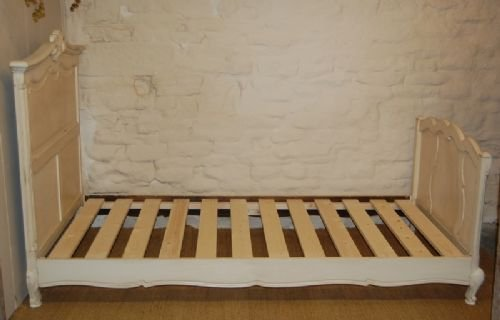 antique french oak single bed
