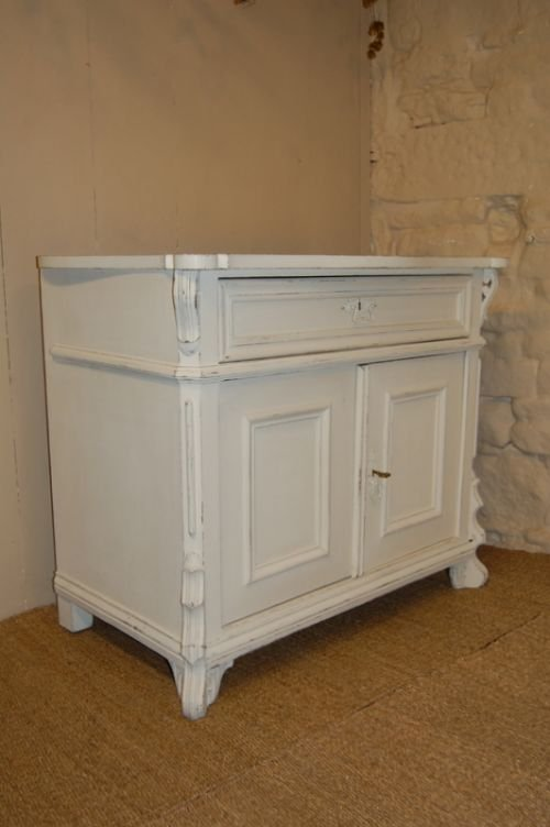 antique french pine cupboard base dresser base