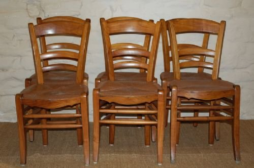 antique french country chairs set of six
