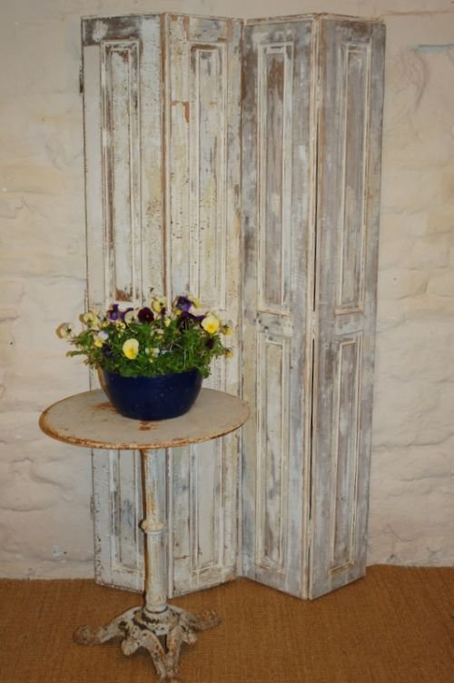 antique french window shutters pair
