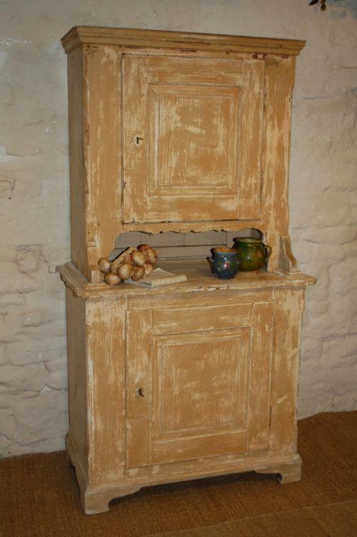 antique rustic dresser kitchen cupboard