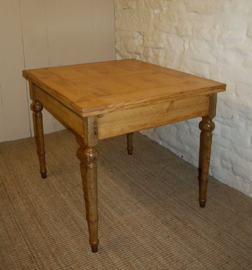 Antique Extension Dining Table Draw Leaf Table Kitchen