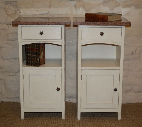antique pair of bedside cabinets potcupboards 1900