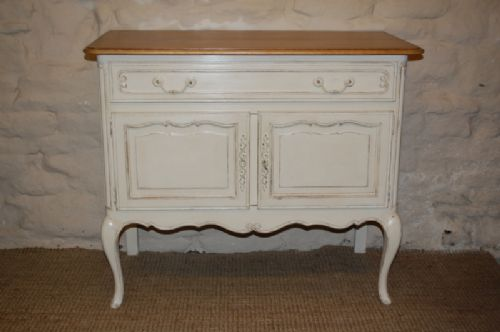 vintage french oak cupboard dresser side board