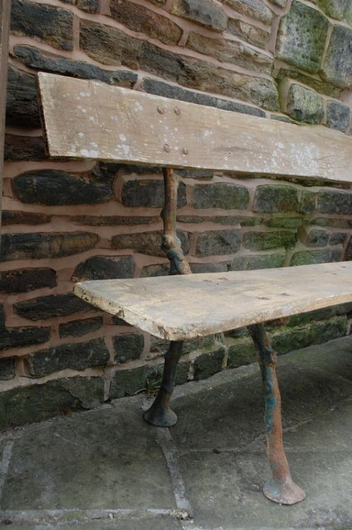 Antique French Cast Iron Quot Twig Quot Garden Bench 218101
