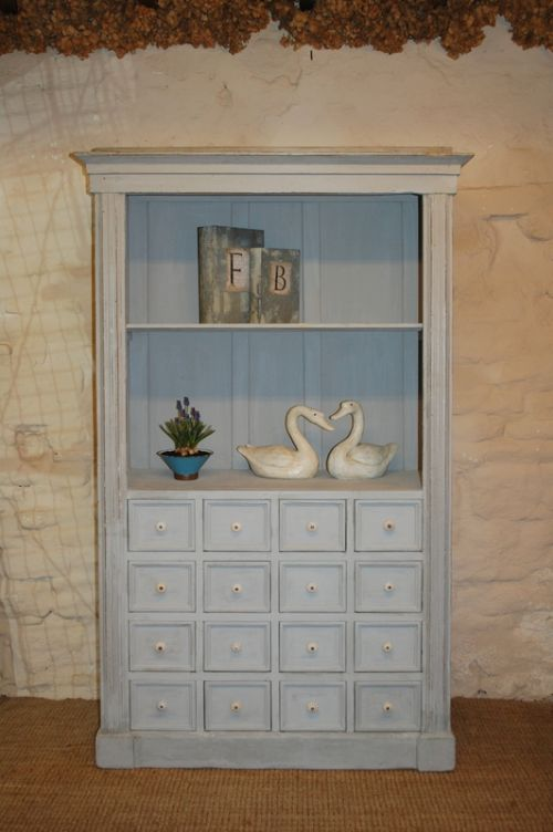 antique rustic pine cupboard with bank of drawers multi drawer cabinet