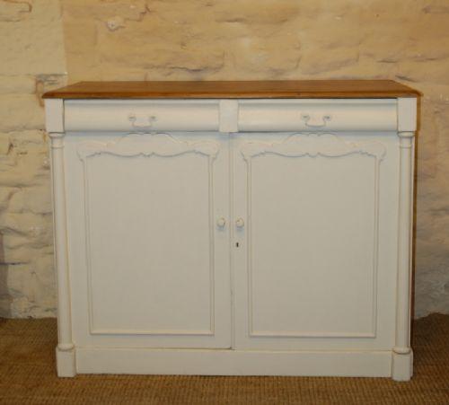 antique pine side board chiffonier 1840