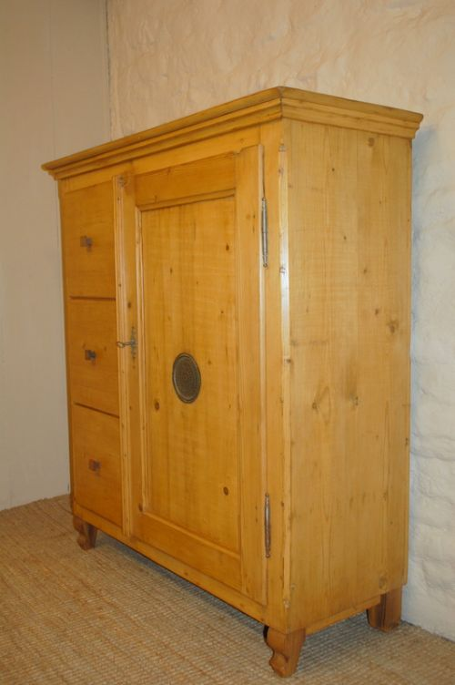 antique pine storage cupboard multi drawer cupboard