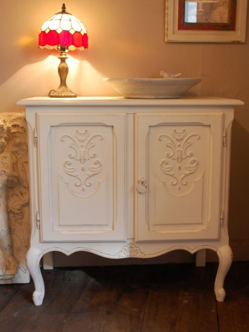 antique french louis xv revival cabinet side board