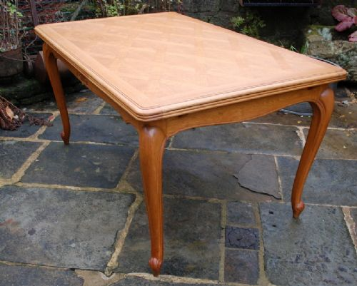 Antique French Oak Extension Dining Table 252257
