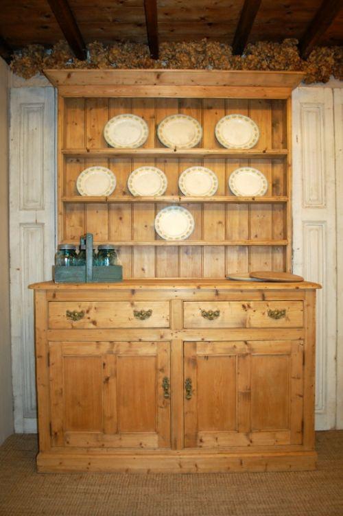 antique irish kitchen dresser antique dresser with rack