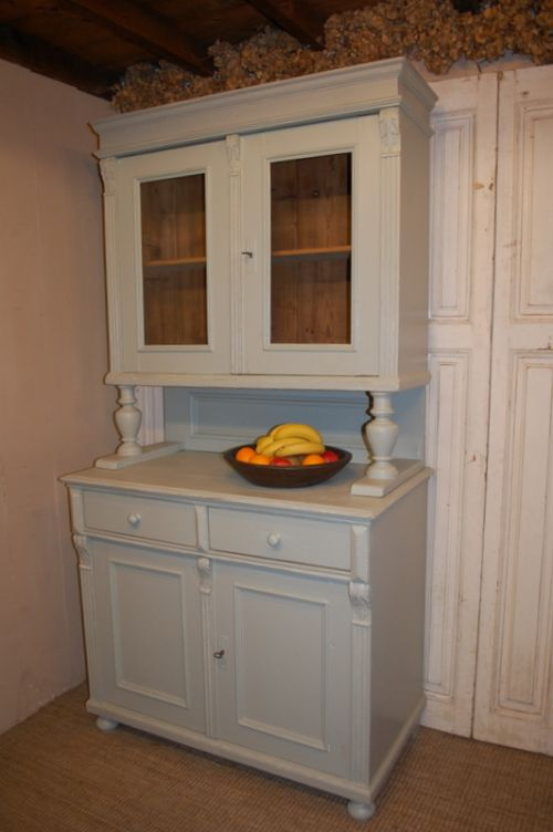 antique painted kitchen dresser glazed kitchen cabinet 1880