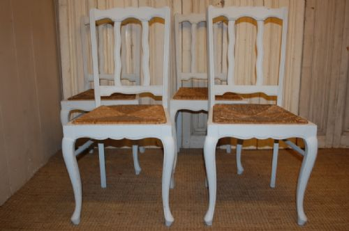antique set of french provencal dining chairs 1900