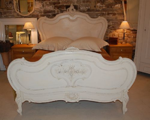 antique french rococo louis xv double bed