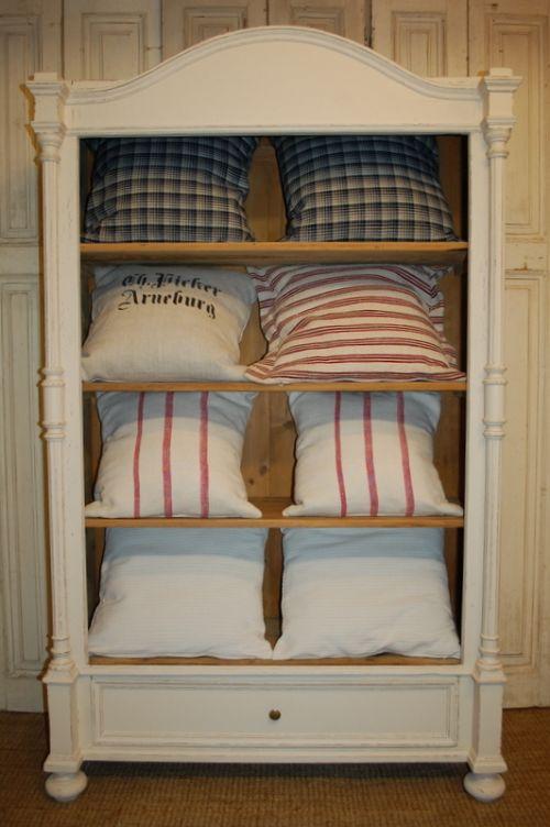 antique pure linen cushions