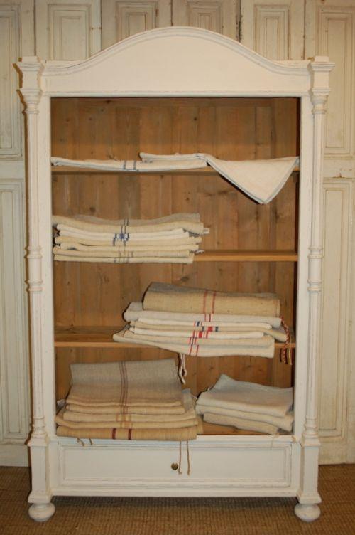 antique hand loomed european hemp sack