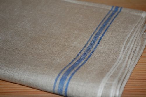 vintage german linen flax mangle cloth 3m